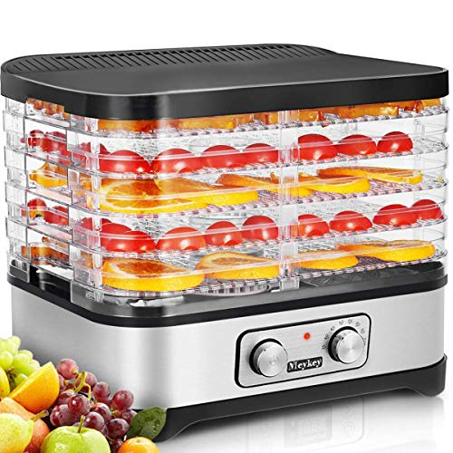 Review Hauture Food Dehydrator Machine, Food Dryer for Jerky/Meat/Beef/Fruit/Vegetable, Temperature ...