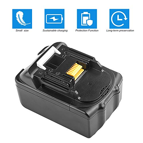 ARyee 3.0Ah Replace for Makita BL1830 18V LXT LithiumIon Battery BL1860 194309-1 Tool (1)