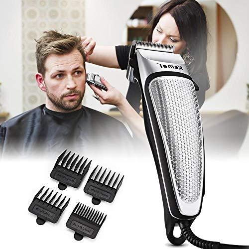 Elektrische Haartrimmer Kit Met Gids Kam Reinigingsborstel, Professionele Kapsel Kit, Kappers Tondeuse Set, Voor Mannen Vrouwen Dagelijkse Haarverzorging