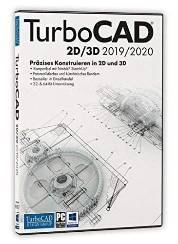 TurboCAD 2D/3D 2019/2020/DVD-ROM