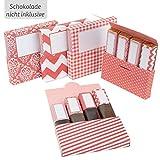 Netti Li Jae ® Aufkleberset für Merci-Schokolade: Das persönliche Dankeschön & kreative Geschenk...