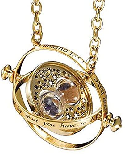 Il! Collana con Ciondolo Giratempo Rotante di Hermione Granger - Harry Potter