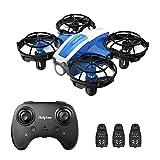 Holyton Mini Drohne HS330 für Kinder RC Quadrocopter ferngesteuert mit 3 Akkus längere Flugzeit,Höhenhaltung,Kopflos Modus, Werfen GO,3D Flip und 3 Geschwindigkeitsmodi Flugzeug für Anfänger
