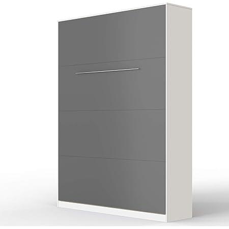 SMARTBett Standard 140x200cm Vertical Blanco/Antracita Cómodo ...