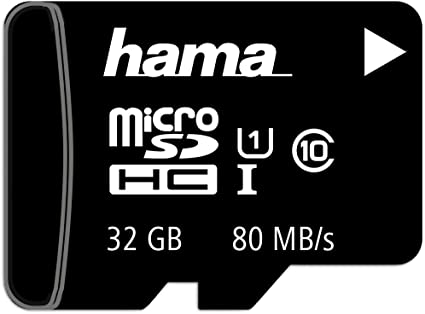 Hama Microsd Microsdhc Microsdxc Karte 32gb 80mb Computer Zubehör