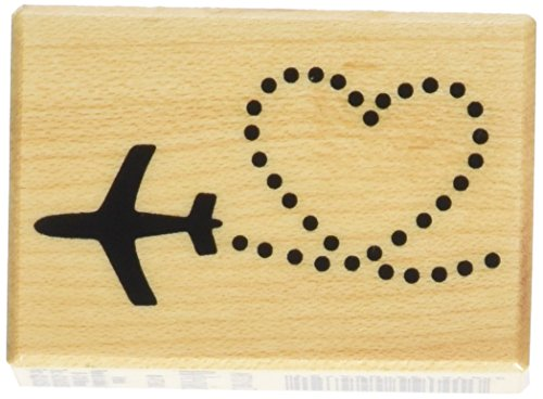 Artemio Holz Stempel - Flug + Herz