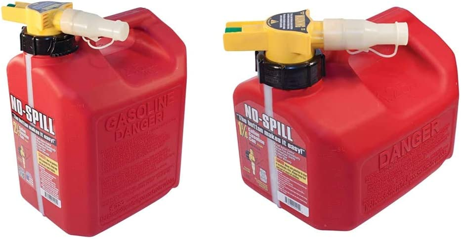 No-Spill 1405 2-1 2-Gallon Poly Can Special Fort Worth Mall price 1415 Gas 1-1 4-Gallon