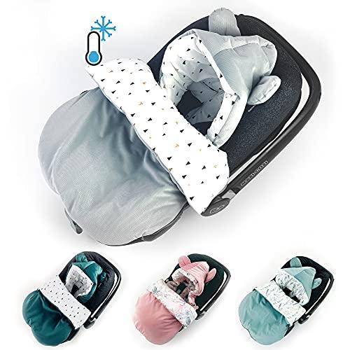 Sommerfußsack Babyfußsack Babyschale Frühling/Sommer leicht dünn, Einschlagdecke Baby Fußsack Schlafsack Kinderwagen Bett Wiege GANZJÄHRIG