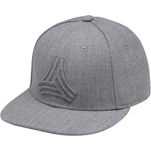 Adidas Tango Snapback Hat Grey One Size Fits Most