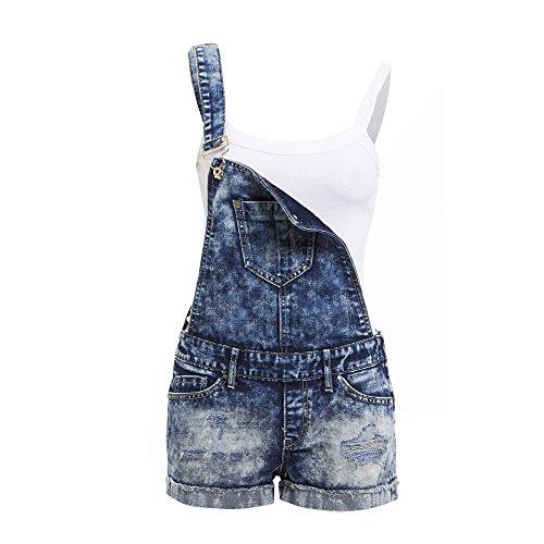 SS7 - Pantaloncini da donna in denim, taglie da 6 a 14 Blu denim 36