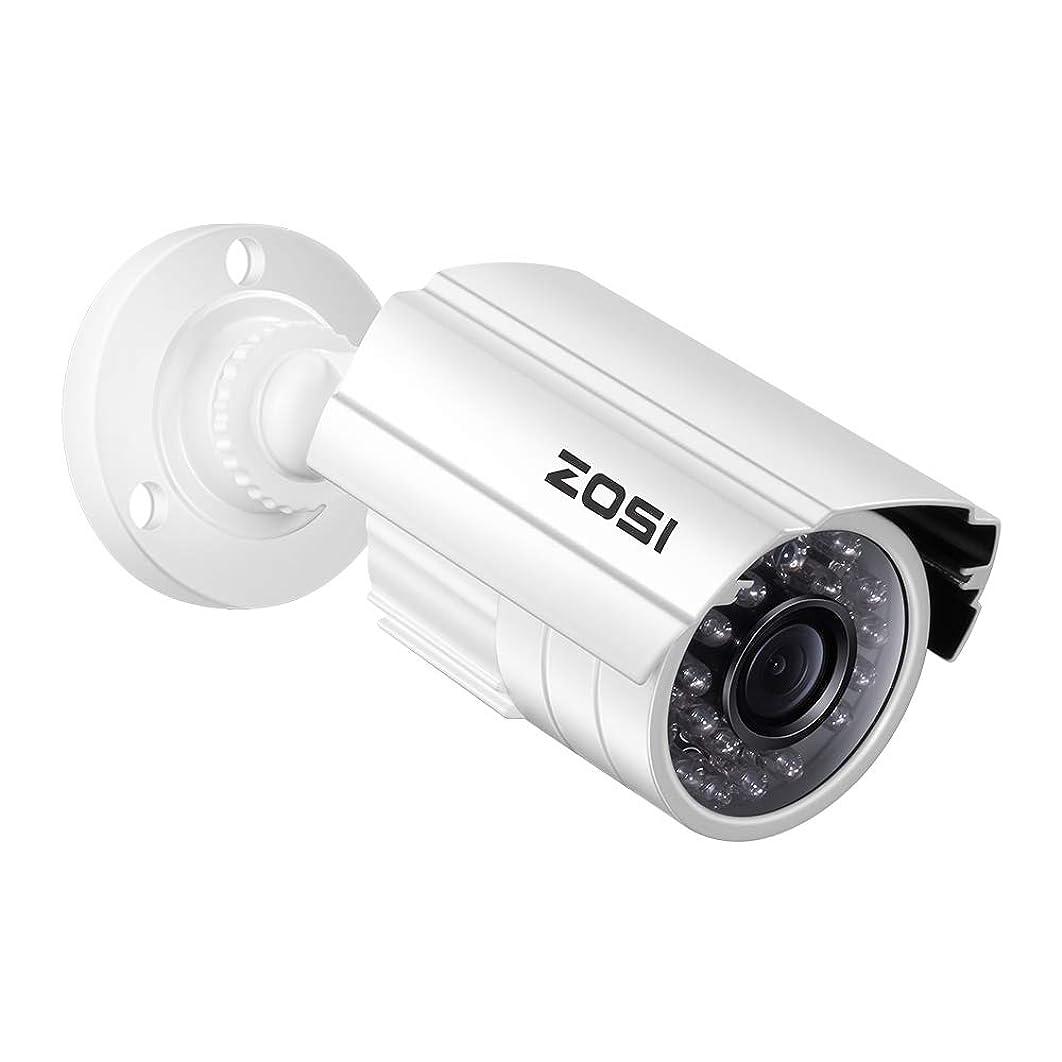 気づく政治家の静めるZOSI 防犯カメラ監視カメラ フルハイビジョン アナログ/AHD/CVI/TVI録画機対応 4-IN-1カメラ OSD付き 赤外線搭載 防水防塵仕様 屋外屋内設置可
