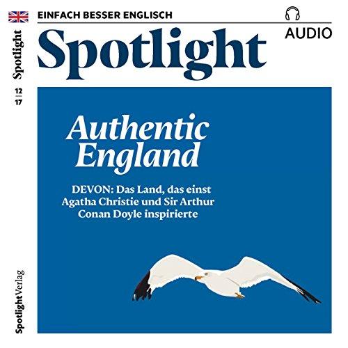 Spotlight Audio - Authentic England. 12/2017 audiobook cover art