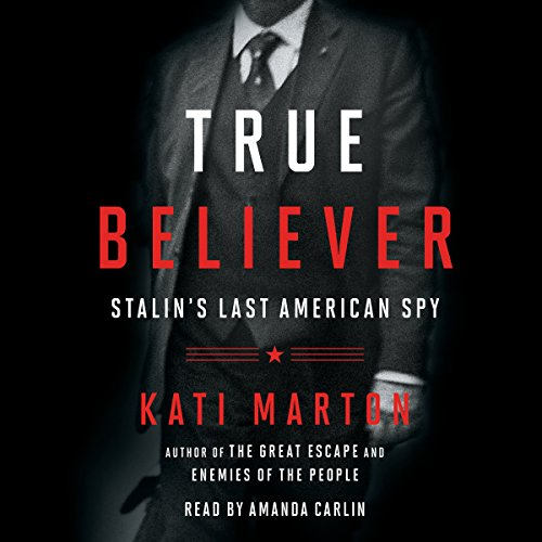 True Believer audiobook cover art