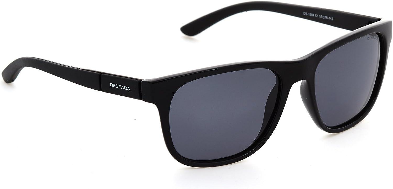 DESPADA Premium Unisex Designer Fashion Polarized GlareFree Sunglasses Mirrored UV400 Lens, DS1504, Made in