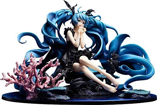 Good Smile Character Vocal Series 01: Hatsune Miku (Deep Sea Girl Version) 1:8 Scale PVC Figure, Multicolor