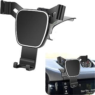 LUNQIN Car Phone Holder for 2015-2020 Porsche Macan and 2019-2020 Cayenne Auto Accessories Navigation Bracket Interior Dec...