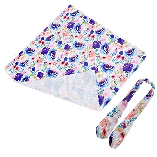 HEALLILY Swaddle Cobertor Do Bebê Com Headband Recém-Nascidos Swaddle Envoltório Bebê Cobertor de Recepção para O Berçário Do Bebê Recém-Nascido Da Menina Do Menino