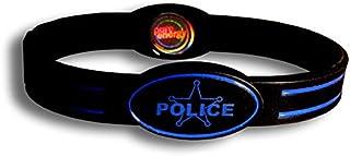 Pure Energyユニセックスpeflex-policemデジタル表示時計、Police DEPT