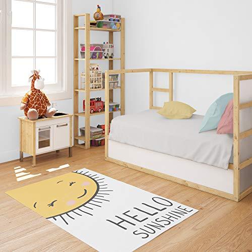 Kinder-Teppich Für Kinderzimmer, Maedchen Teppich, Junge Teppich Sunshine (80 x 150 cm)