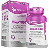 Urinary Tract Cleanse Treatment Formula (UTI) with 36 mg PAC Medical-Grade Cranberry Supplement for UTI Prevention with D-Mannose