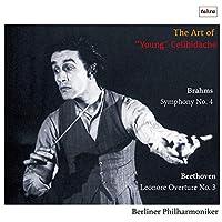 チェリビダッケ、若き日の名演 ~ ベートーヴェン : 「レオノーレ」 序曲 | ブラームス : 交響曲 第4番 (The Art of ''Young'' Celibidache ~ Brahms : Symphony No.4 | Beethoven : Leonore Overture No.3 / Berliner Philharmoniker) [CD] [国内プレス] [日本語帯解説付]