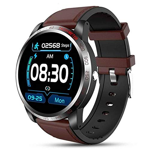 XQTEI 1.4 Reloj Inteligente de Pantalla Redonda TFT, función de podómetro, monitoreo de Salud, IP67, Empuje de información, Reloj Inteligente de análisis del sueño