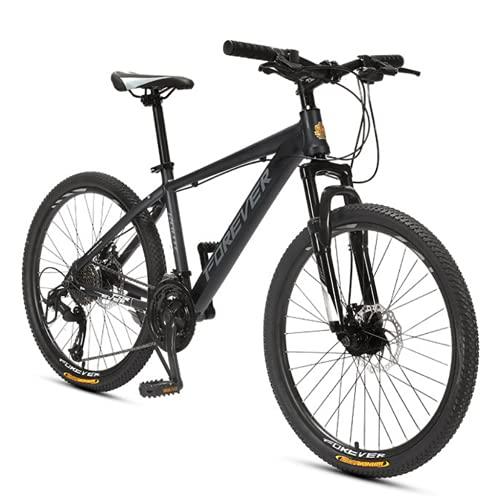 Bicicletas de montaña, bicicleta de montaña de las ruedas grandes de 26 pulgadas, la bicicleta de la montaña del marco de aluminio de la overdrive, la bicicleta de las mujeres para hombre 27 Velocidad