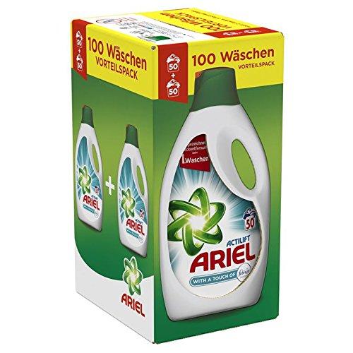 ARIEL Febreze Lessive LiquideLavages - Lot de 2
