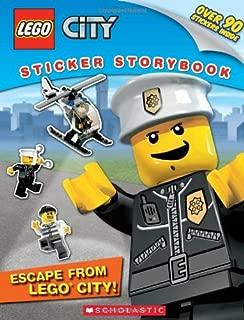 LEGO City: Escape from LEGO City!: Sticker Storybook