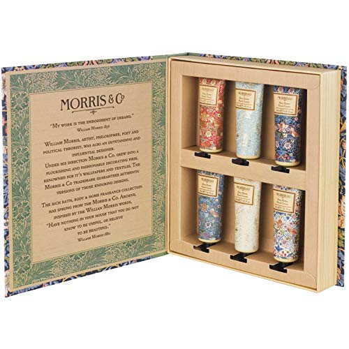 Morris & Co Strawberry Thief Library Hand Cream, 30 ml, Pack of 6