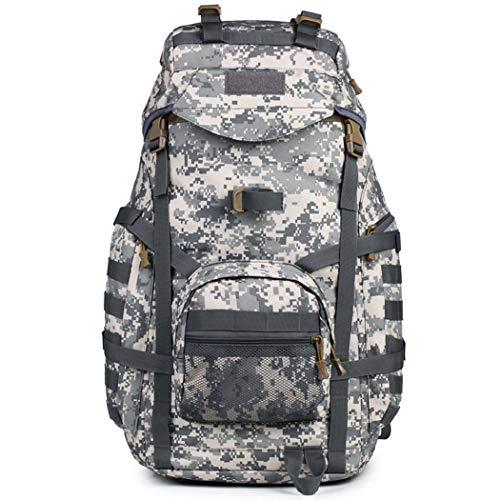 MALPYQ Outdoor Travel Rugzak, Army Fan Sports 3P Tactical Bag | Grote capaciteiten bergbeklimmerszak | Waterdichte sportrugzak
