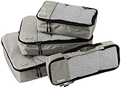 Amazon Travel Essentials - Set of Four Packing Cubes