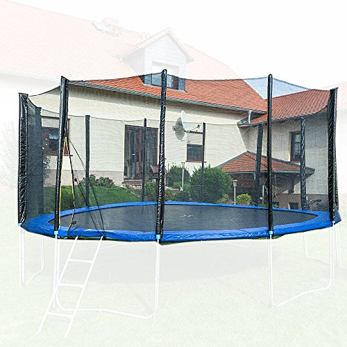 MS-Point Trampolin Sicherheitsnetz – ø 250 cm / 8 Pfosten