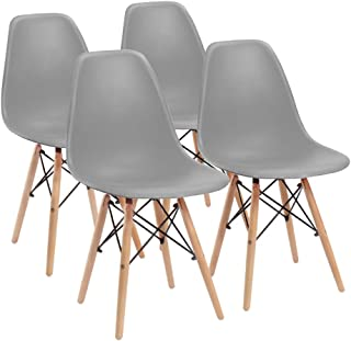 Furmax Pre Assembled Modern Style Dining Chair Mid...