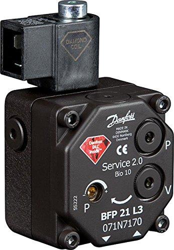 Danfoss Diamond Serie Ölbrennerpumpe Typ BFP 21L3 links, 071N7170 Servicepumpe