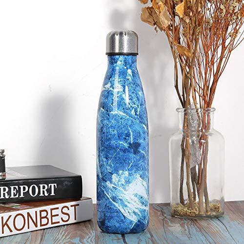 RXDRO Chilly'S Bottles, Bouteille d'eau en Acier Inoxydable à Double éPaisseur pour Isolation sous Vide 500 ML, 12 Heures à Chaud / 24 Heures à Froid, sans BPA, Pique-Nique en Plein Air