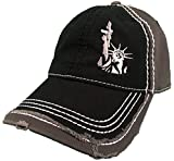 Lady Liberty with AR-15 Pistol hat 2nd Amendment Statue of Liberty Gun Black/Grey