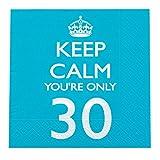 Neviti - 30 anni pacco Tovaglioli KC&P, Blu