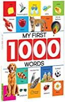 My First 1000 Words: Early Learning Picture Book to Learn Alphabet, Numbers, Shapes and Colours, Transport, Birds and...