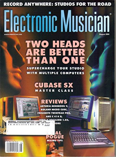 Electronic Musician Magazine, August 2004 (Vol. 20, No. 10)