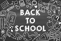 HD 10x7ftビニール写真の背景の学校の背景黒板黒板黒板チョーク描画テーマ背景教師学生子供写真ブース撮影小道具