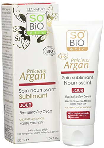 So'Bio etic Soin Sublimant Nourrissant Jour a l'Argan Bio tube de 50 ml