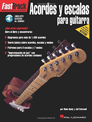 FastTrack Guitar Chords & Scales (Spanish) (Book/Online Audio) (Hal Leonard)