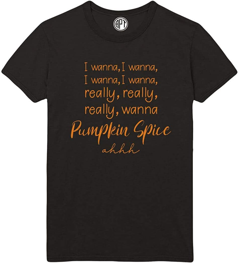 Wanna Pumpkin Spice Printed T-Shirt