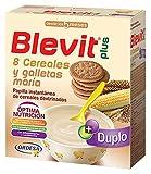 Blevit Plus Duplo 8 Cereales y Galletas María, A Partir de Los 5 Meses, 600g