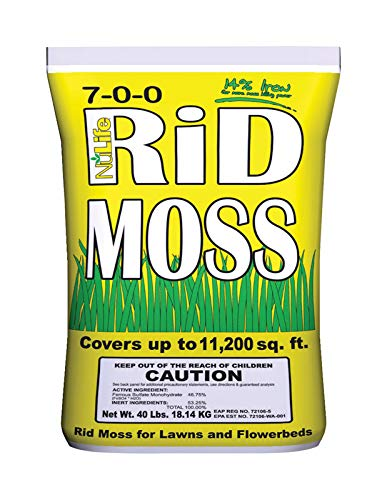 Nulife Rid Moss Moss Killer - Case of: 1