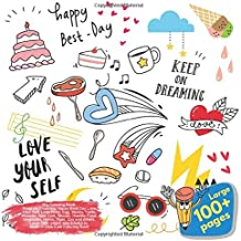 Big Coloring Book Keep on Dreaming Happy Best Day Love Your Self, Little Pony, Egg, Masks, Turtle, Monster, New York, Mosaic, Healthy Food, Vegetable, ... Best Day Love Your Self and others Doodle)