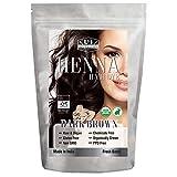 Best Organic Hair Dyes - Organic DARK BROWN Henna Hair Dye - USDA Review