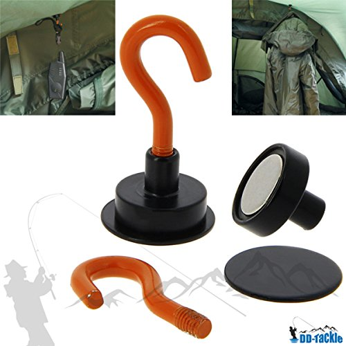 DD-Tackle Magnet Haken 2 Stück für Zelt - Bivvy - Brolly - Schirm Magnetic Hook