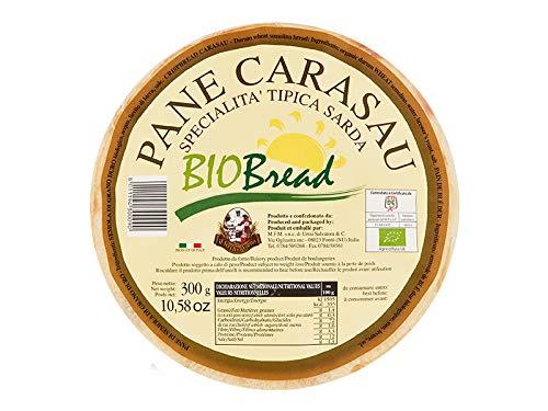 20 x 300 gr - Pane carasau biologico. Pane tipico delle quattro Barbagie - prodotto dal consorzio di...